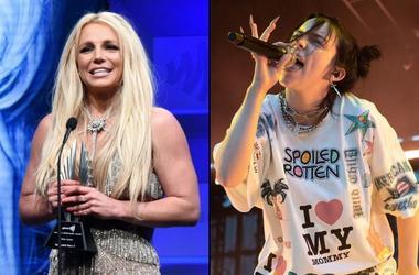 Britney Spears and Billie Eilish
