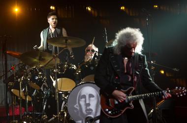 Queen with Adam Lambert