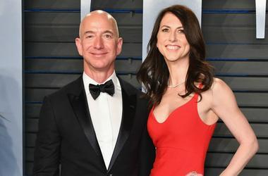 Jeff And MacKenzie Bezos