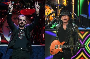 Ringo Starr x Carlos Santana