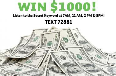 Cash Contest