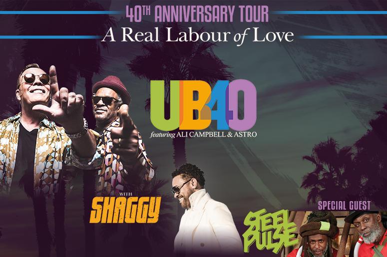 UB40 with Shaggy & Steele Pulse | 987 Simon