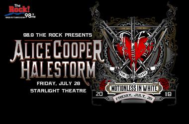 Alice Cooper & Halestorm