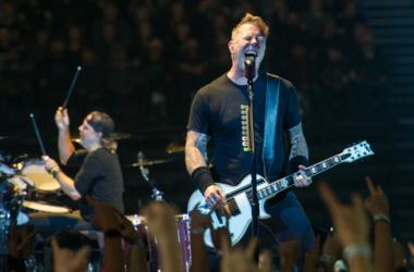 James Hetfield and Lars Ulrich of Metallic