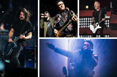 Foo Fighters, Metallica, Avenged Sevenfold, Marilyn Manson
