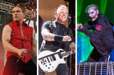 Shinedown, Metallica, Slipknot
