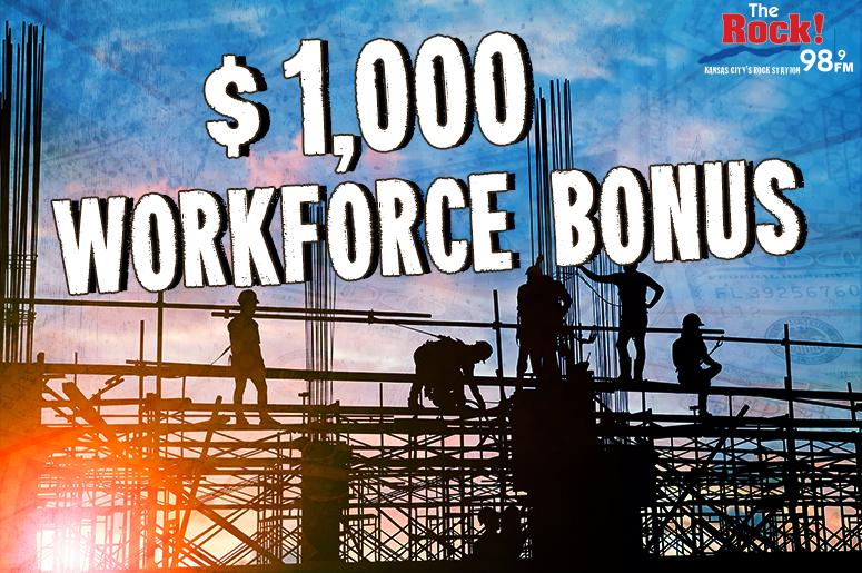 $1000 Workforce Bonus