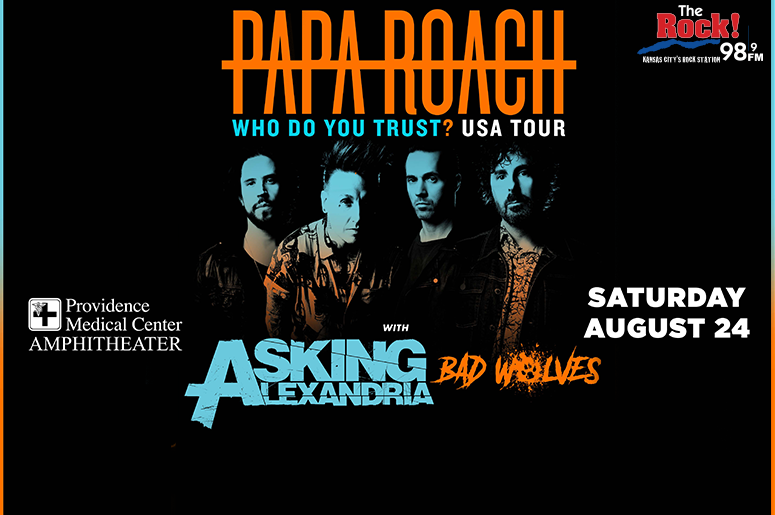 Papa Roach Who Do You Trust Tour