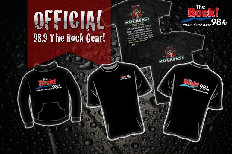 98.9 The Rock! official merch