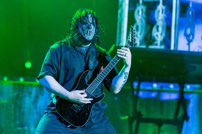Alessandro Venturella of Slipknot at Toyota Park during Open Air Chicago