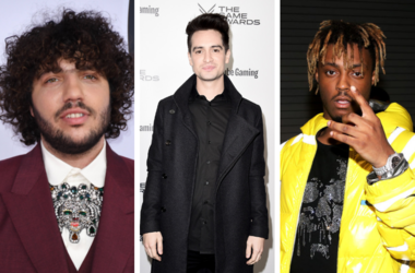 Benny Blanco, Brendon Urie, and Juice WRLD