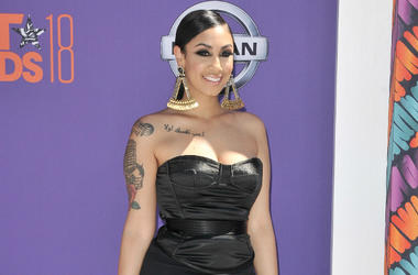Queen Naija arrives at the 2018 BET Awards held at the Microsoft Theater in Los Angeles, CA on Sunday, June 24, 2018.