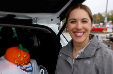 Elizabeth Kay with Chevy