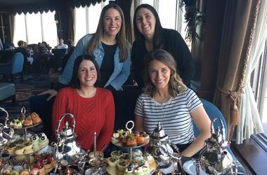 Elizabeth Kay tea party