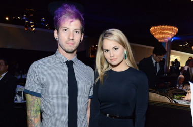 Josh Dun and Debby Ryan attend the 5th Annual Thirst Gala hosted by Jennifer Garner