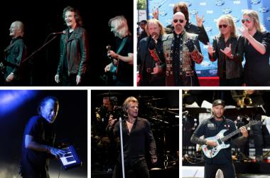 The Zombies, Judas Priest, Tom Morello of Rage Against the Machine, Thom Yorke of Radiohead, Jon Bon Jovi