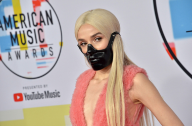Poppy at the 2018 American Music Awards held at Microsoft Theater on October 09, 2018 in Los Angeles, CA