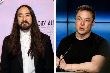 "Steve Aoki attending the Keep Memory Alive's 22nd Annual ""Power of Love"" Gala in Las Vegas. / Elon Musk CEO of SpaceX, speaks to the media during a press conference after the Falcon Heavy Launch."
