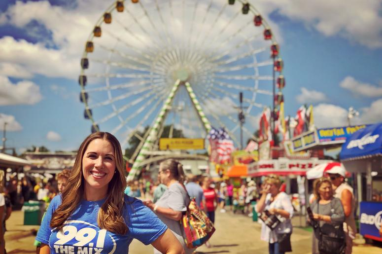 Elizabeth Kay at the State Fair