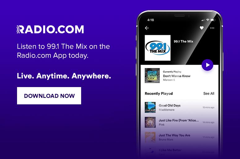 99 1 FM The Mix - Milwaukee Pop Music - WMYX-FM   Radio com