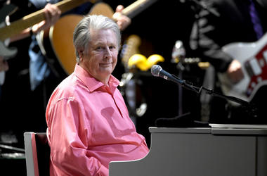 Brain Wilson performs Pet Sounds at the Pantages Theatre on May 26, 2017