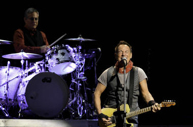 Bruce Springsteen performs during The River Tour 2016