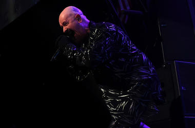 Rob Halford of Judas Priest performs in 2014