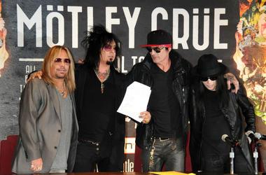 Vince Neil, Nikki Sixx, Tommy Lee, Mick Mars, Motley Crue