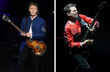Paul McCartney and Muse frontman Matt Bellamy