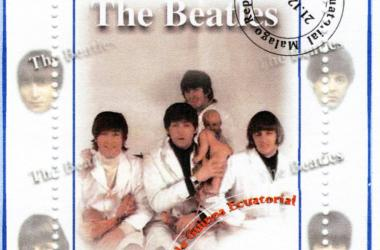 The Beatles album cover