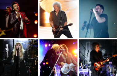 Harry Styles, Brian May, Trent Reznor, Robert Smith of The Cure, Def Leppard, Stevie Nicks