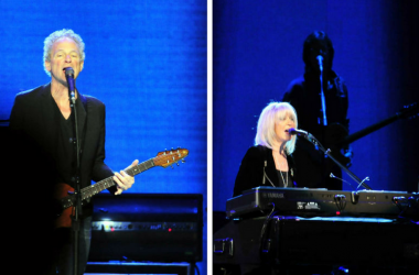 Christine McVie and Lindsey Buckingham of Fleetwood Mac