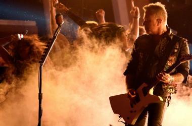 James Hetfield of Metallica performs live