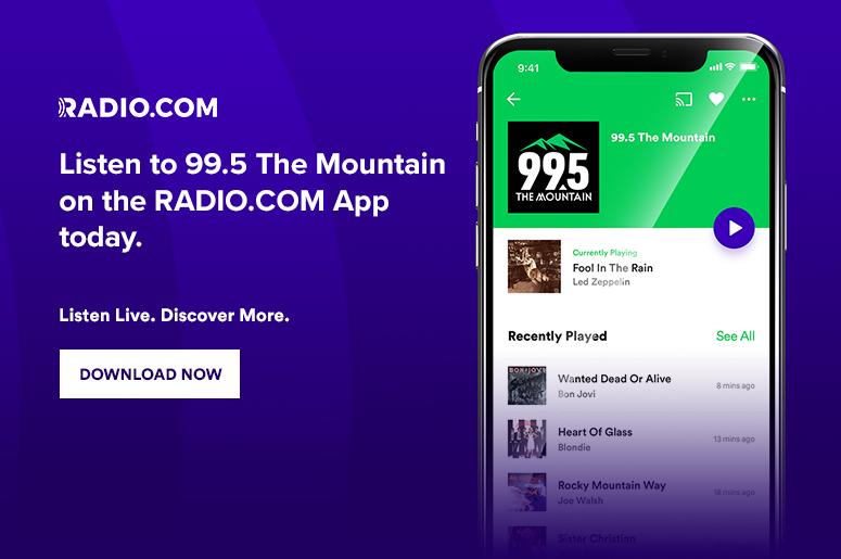 99 5 FM The Mountain - Denver Adult Rock - KQMT-FM | Radio com