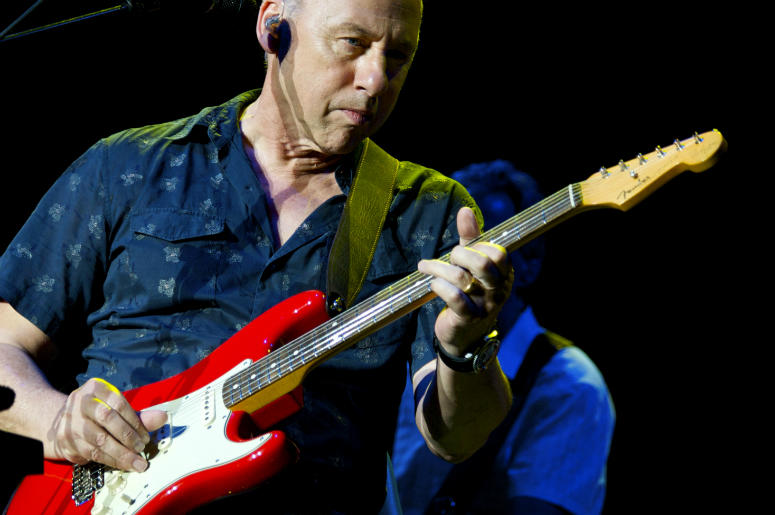 Mark Knopfler performs in concert at Plaza de Toros de Las Ventas on July 29, 2010 in Madrid, Spain.