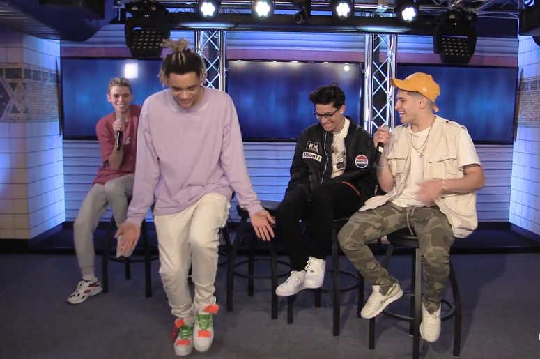 PRETTYMUCH show off their best/worst dance moves in this exclusive interview!