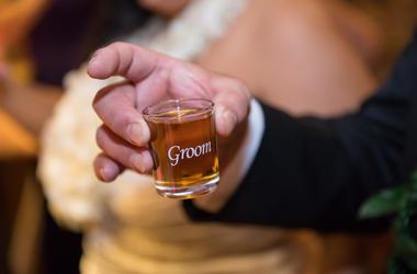 Drinking Groom
