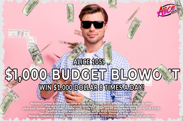 Alice Budget Blowout