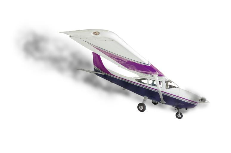 Cessna Crashing