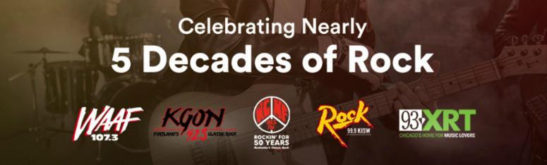 Celebrating Nearly 5 Decades of Rock