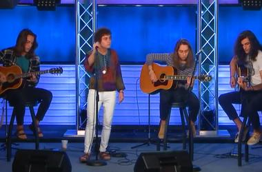 Greta Van Fleet perform in the radio.com studio