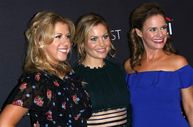 Jodie Sweetin, Andrea Barber and Candance Cameron Bure