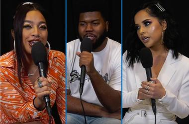 Khalid, Kiana Ledé, and Becky G break down one of the night's biggest categories