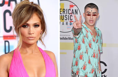 Jennifer Lopez and Bad Bunny