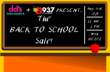 DDs Discounts Back to School