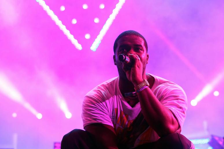 Ferg makes a guest appearance in DJ Khaled's set during Coachella