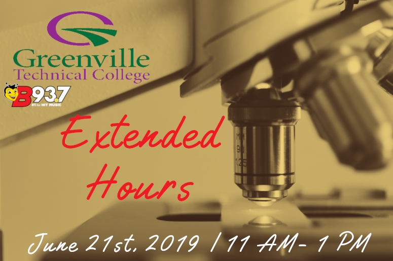Greenville Tech Extended Hours