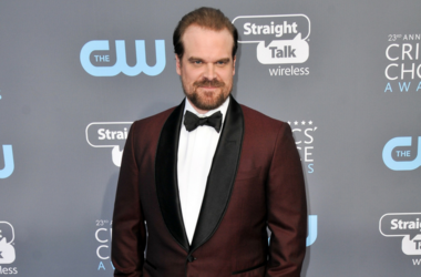 David Harbour at The 23rd Annual Critics' Choice Awards