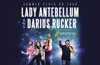 Lady Antebellum and Darius Rucker
