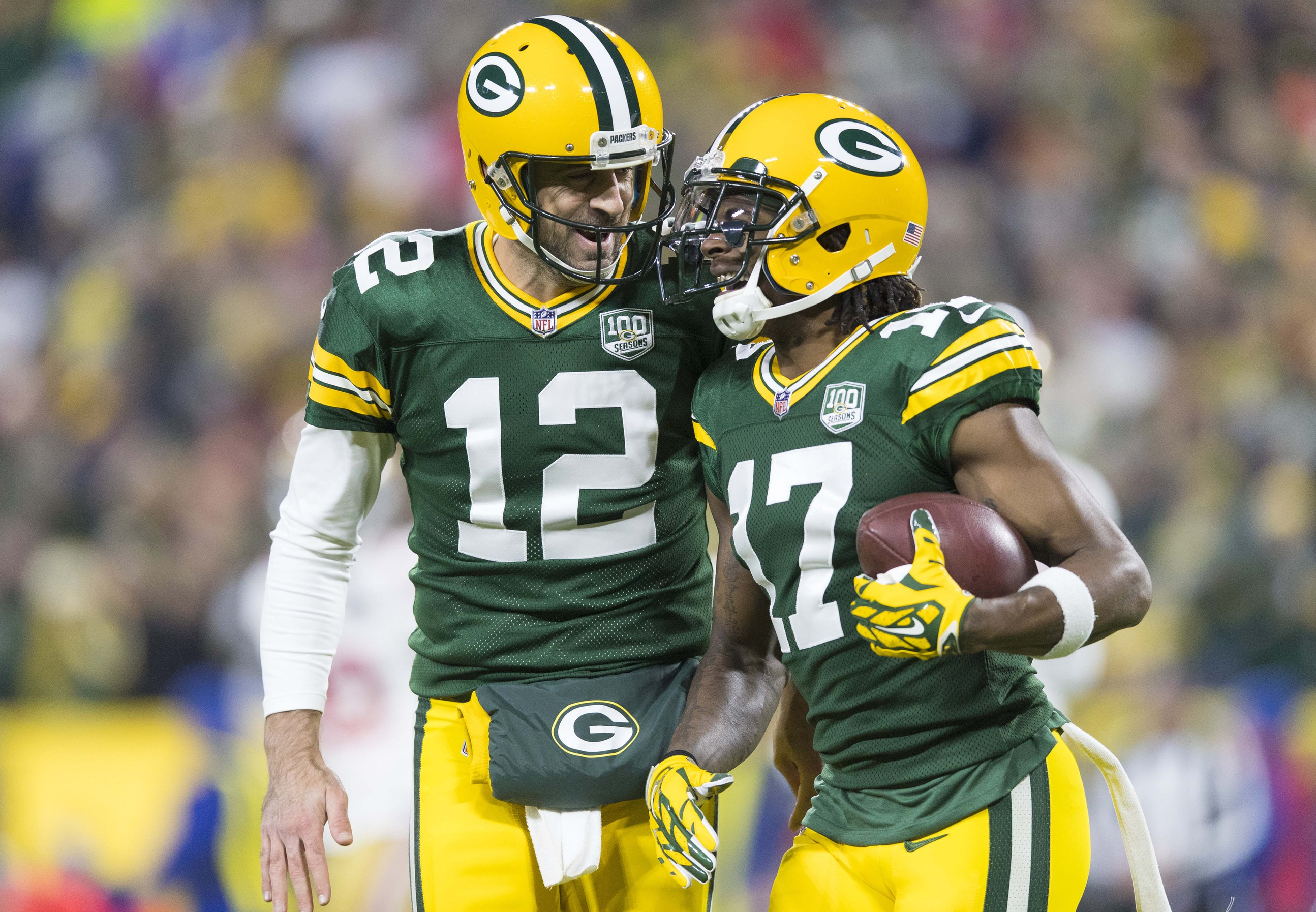 9ced745cbf5 Two Packers named to Pro Bowl - Davante Adams   Aaron Rodgers